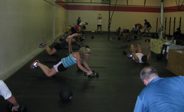 Workout of the Day:  25-Aug-2011