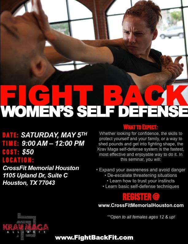 CrossFit Memorial Houston | Women's Self Defense Class - Saturday
